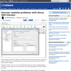 Uncover website problems with Darcy SEO Checker