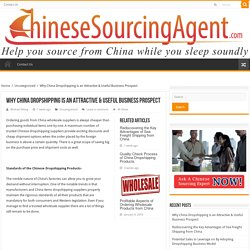 Uncovering the attractive and useful business prospect of China dropshipping.