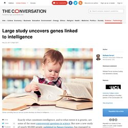 Large study uncovers genes linked to intelligence
