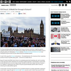 UK Uncut: A Model for Occupy's Future?