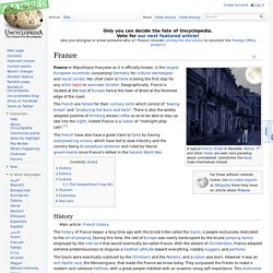 France - Uncyclopedia, the content-free encyclopedia
