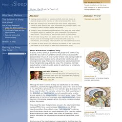 Under the Brain's Control