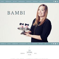 Bambi - Gjorda med kärlek – underbara saffransmazariner!