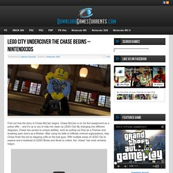 Lego City Undercover The Chase Begins - Nintendo3DS