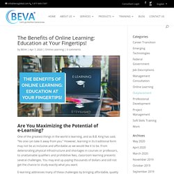 Don't Underestimate the Benefits of Online Learning!