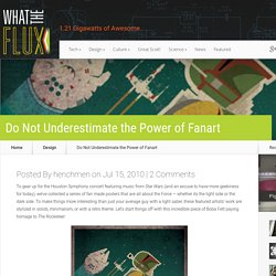 Do Not Underestimate the Power of Fanart | What The Flux
