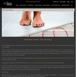 Heating Company: The Most Reliable Supplier Of Quality Underfloor Heating NZ Products