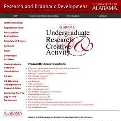 Undergraduate Research and Creative Activity Conference