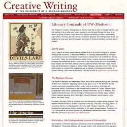 Undergraduate Creative Writing Courses and Registration