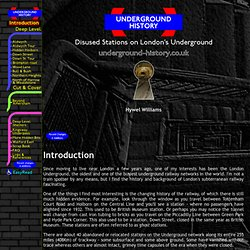 London Underground History - Disused Stations on London's Underg