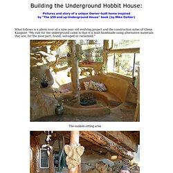 Glenn's Underground Cob House