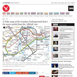 A Tube map of the London Underground that's far more useful than the 'official' one - UK - News