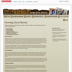 Underground Railroad Student Activity