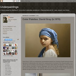 Color Palettes: David Gray (b.1970)