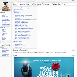 The Undersea World of Jacques Cousteau - Collection One