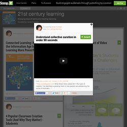 Understand collective curation in under 90 seconds | 21st century learning