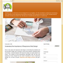 Understand the Importance of Responsive Web Design