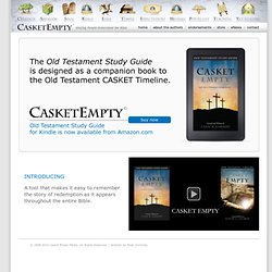 CASKET EMPTY Old Testament Timeline
