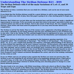 Understanding%20The%20Sicilian%20Defense