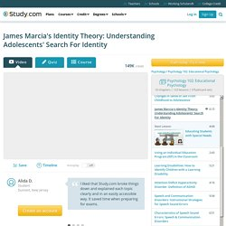 James Marcia's Identity Theory: Understanding Adolescents' Search For Identity