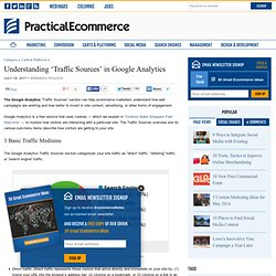 Understanding 'Traffic Sources' in Google Analytics