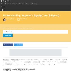Understanding Angular's $apply() and $digest()