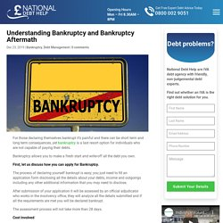 Understanding Bankruptcy and Bankruptcy Aftermath