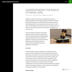 Understanding the Basics of Wage Laws