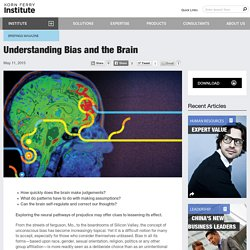 Understanding Bias and the Brain