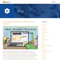 Understanding Bigfin's Web Design Process