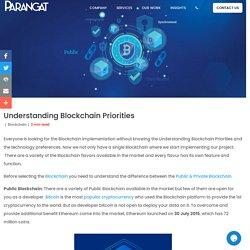 Understanding Blockchain Priorities