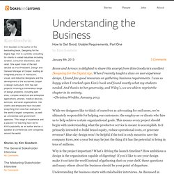 Understanding the Business