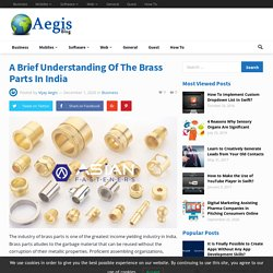 What is brass produced and used for industries?