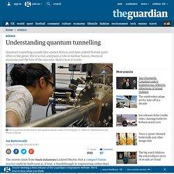 Understanding quantum tunnelling