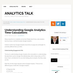 Understanding Google Analytics Time Calculations