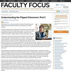 Understanding the Flipped Classroom: Part 2