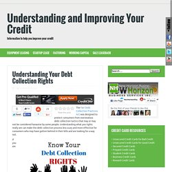 Understanding Your Debt Collection Rights