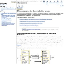 Understanding the Communication Layers