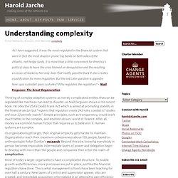 Understanding complexity