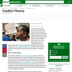 Understanding Conflict Theory