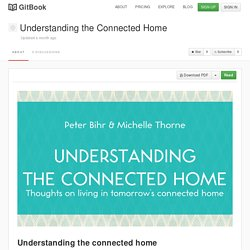 Understanding the Connected Home · GitBook