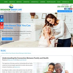 Understanding the Connection Between Family and Health