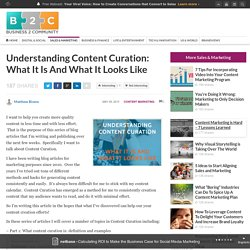 Understanding Content Curation: What It Is And What It Looks Like