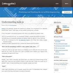 Understanding node.js » Debuggable Ltd