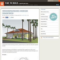 Time to Build - Understanding Design Drawings