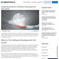 Understanding the Software Development Life Cycle