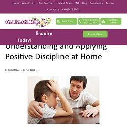 Understanding and Applying Positive Discipline at Home