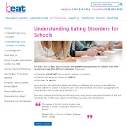 Understanding Eating Disorder Training for Schools - Beat