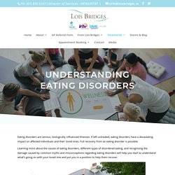 Understanding Eating Disorders & Finding Their Cure
