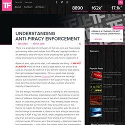 Understanding Anti-Piracy Enforcement